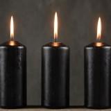 Черные свечи для ритуалов и обрядов
