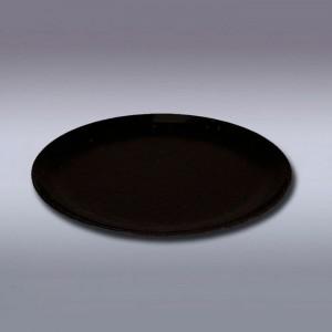 Подсвечник тарелка 7,6 см, черный